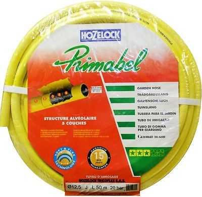 Hozelock Hose Primabel 900 Yellow extra heavy duty long life 50M Long