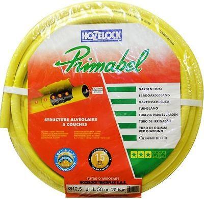 Hozelock Hose Primabel 900 Yellow extra heavy duty long life 50M Long