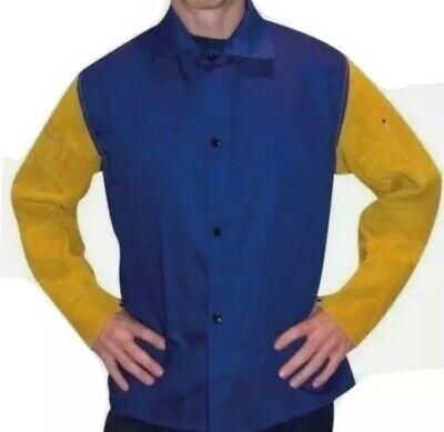Tillman 9230m Medium Weight Welding Jacket 30 Leatherflame Retardant Cotton.