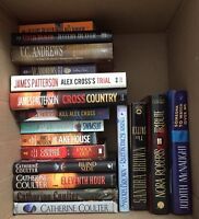 Books - James Paterson, Nora Roberts, VC Andrews + more