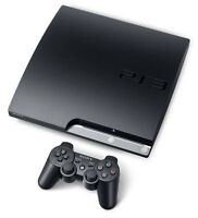 320gb PS3 slim console with 1 wireless controller