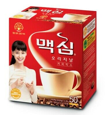 Maxim Original Coffee Mix Instant 50 Pcs Stick Instant Made in Korea