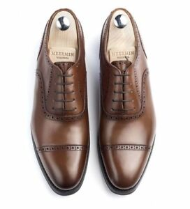 New Meermin Oak Antique Calf Oxford 10.5D