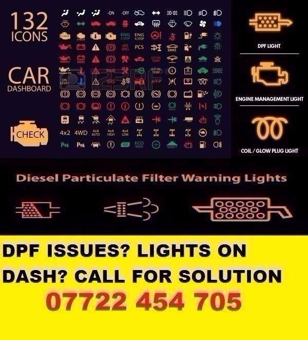 Car Diagnostic Dpf Problems Other Dashboard Lights Warning