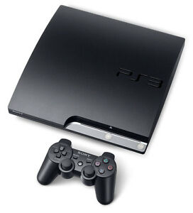 PS3 Slim Console 320GB DualShock Controller with Games