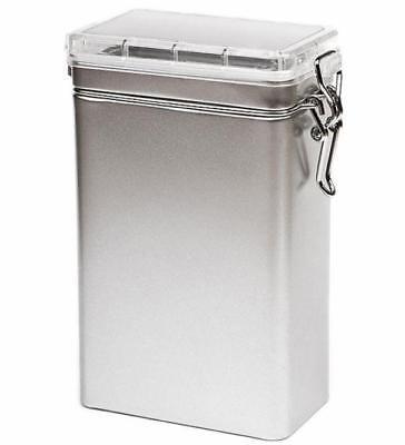 Kleine Kaffeedose für 250 Gramm mit transparentem Deckel / Vorratsdose Behälter (Kleine Behälter Mit Deckel)