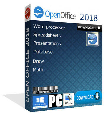 2018 Open Office Pro Word Spreadsheets For Microsoft Windows   Mac  Download