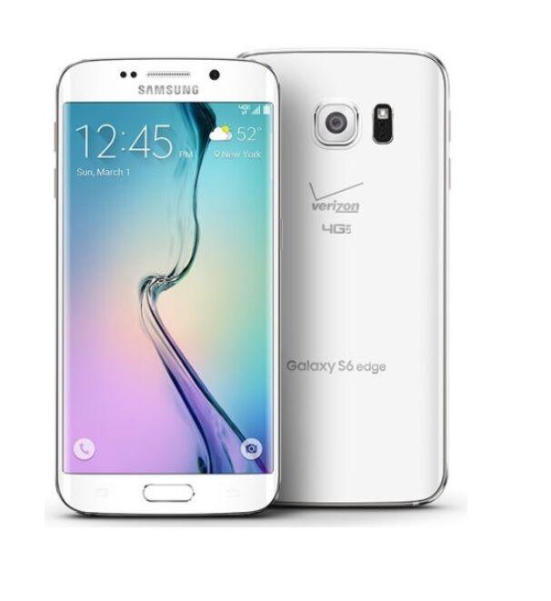 Купить Samsung Galaxy S6 Edge - Samsung Galaxy S6 Edge G925V (Verizon) Unlocked Smartphone Cell Phone AT&T GSM