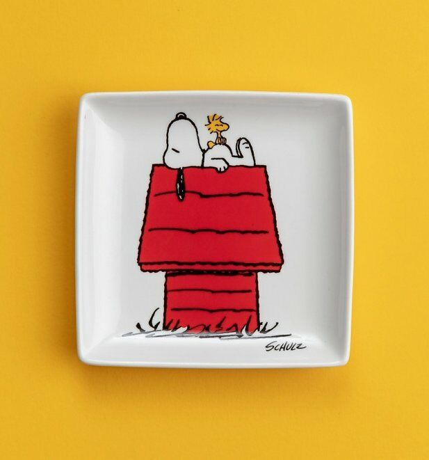 Official Peanuts Snoopy Doghouse Trinket Tray