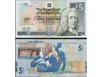 Jack Nicklaus £5.00 note