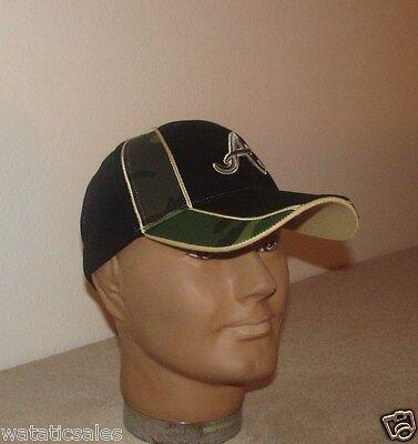 Atlanta Braves Camo Baseball Hat Adult One Size New Mlb Cap Free Shipping
