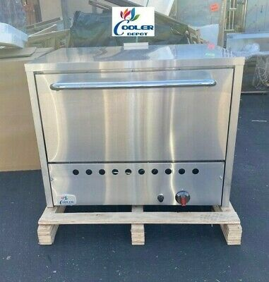 36 Commercial Stone Base Pizza Oven Bakery Pizzeria Cooker Wings Nsf Ss Nat Gas