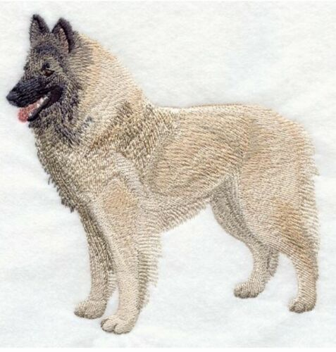 Belgian Tervuren, Hand Towel, Embroidered, Custom, Personalized, Dog