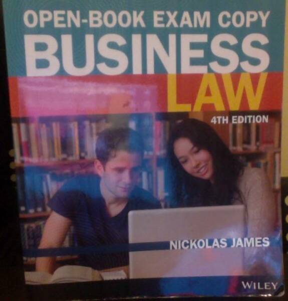 Business law by nickolas james 4th edition textbooks gumtree business law by nickolas james 4th edition fandeluxe Choice Image