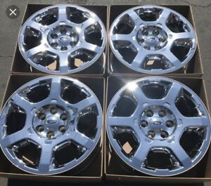 20 inch Ford Chrome Rims with Tires