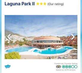 7 NIGHT PACKAGE HOLIDAY TENERIFE 19th - 26th AUGUST
