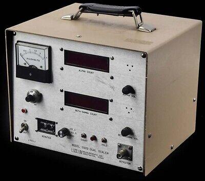 Ludlum Measurements 2929 Digital Beta-gamma Alpha Radiation Dual Scaler Parts
