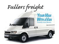FULLERS FREIGHT man with a van service