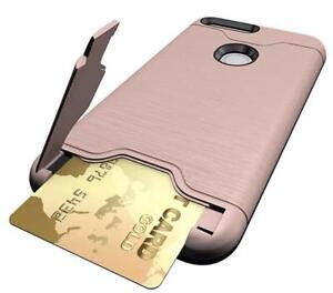Shockproof ID Card Stand Armour Phone Case