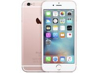 iPHONE 6S 16GB, SHOP RECEIPT & WARRANTY, UNLOCKED