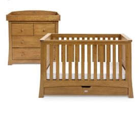 Silvercross Baby cot (70x140) and Changing unit
