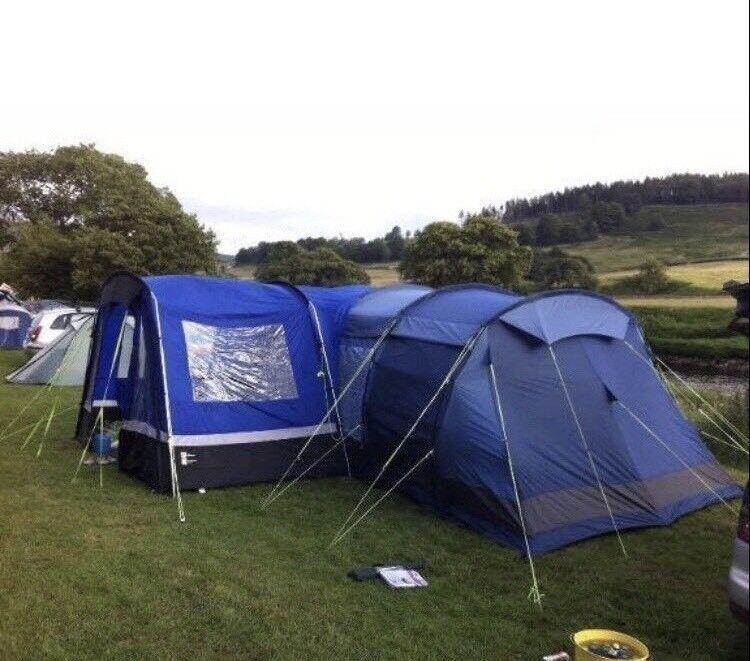 Kalahari 8 Man Tent Camping Equipment Porch In Sheffield