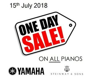 ONE DAY PIANO SALE - JULY 15th