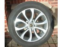 17inch Wheel and tyre