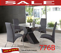 Model 776BK-60, dining sets, dinettes, kitchen tables, chairs