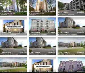 FREE DAILY MISSISSAUGA CONDO LISTINGS UNDER $300000