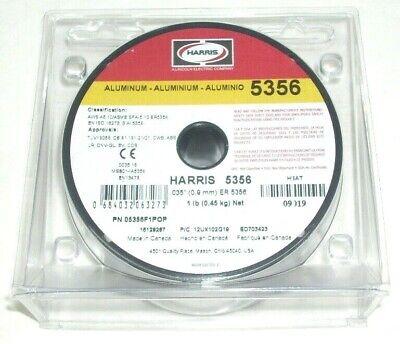 2 Genuine Harris 5356 .035 Aluminum Mig Welding Wire 1 Lb Rolls