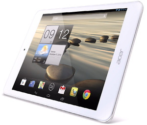 "7.9""Display Acer Iconia Android Tablet 16GB (5+2MP) Dual Camera"