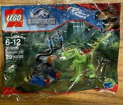 Lego 30320 Gallimimus Trap Jurassic World Polybag Brand New Sealed