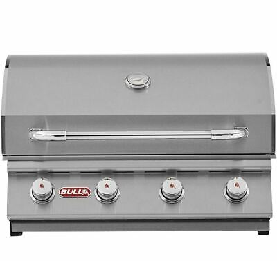 Bull BBQ 30 Inch Stainless Steel Outdoor 4-Burner Propane Barbecue - 30 Inch White 4 Burner