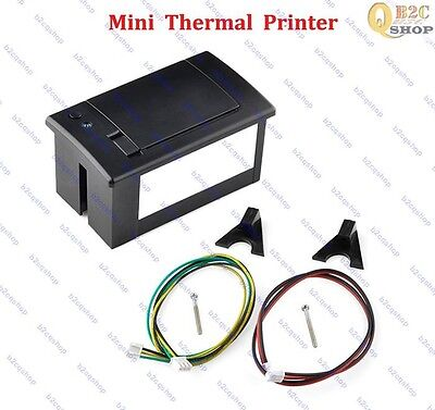 mini Thermal Printer for Arduino Displaying on Paper Raspberry Pi Electronic