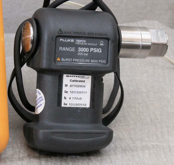 Fluke 700P29 Pressure Module 3000 PSIG   Guaranteed    Nice!       PM9