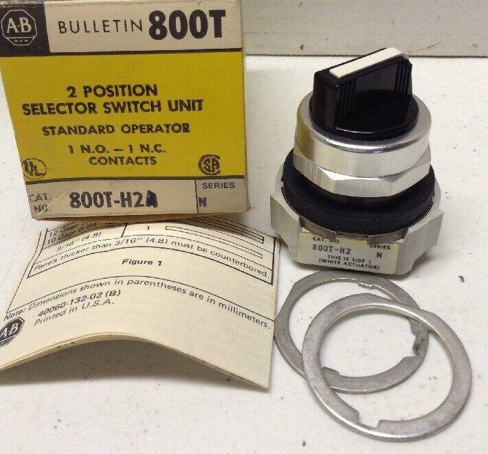 Allen-Bradley 800T-H2 Series N Selector Switch