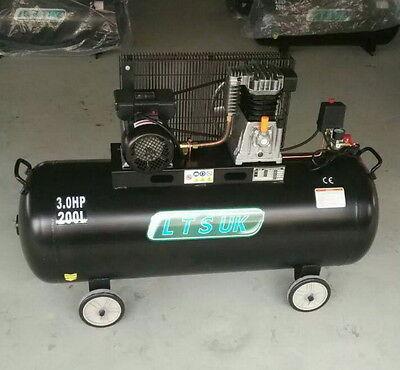 SAC1203B AIR COMPRESSOR 200 LTR NEW £449 ce uk