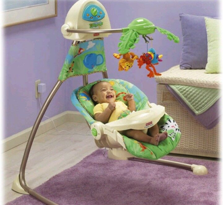 Baby Swing Strong & Sturdy, Fisher price