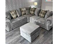 BRAND NEW VERONA CORNER SOFAS AVAILABLE IN 3+2 SOFA SET--AVAILABLE IN STOCK