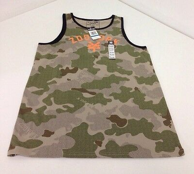 NWT BOYS ZOO YORK CAMO TANK TOP XL (18-20) NWT