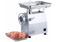 Commercial High quality Stainless Steel Meet Mincer Size 22 Brand New