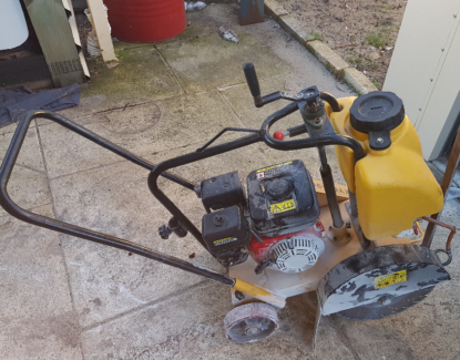 Concrete Saw Hire Honda 6.5hp $70.PDay $70.PHour With Operator