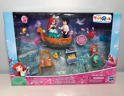DISNEY Princess Little Kingdom Little Mermaid Ariel Land & Sea Toys R