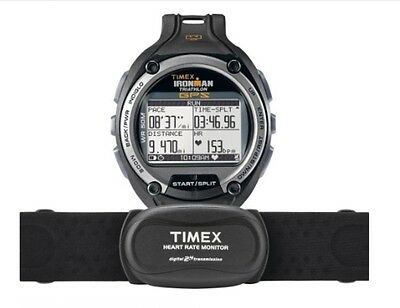 TIMEX Ironman Global Trainer GPS Speed Distance Heart Rate Monitor Running Watch