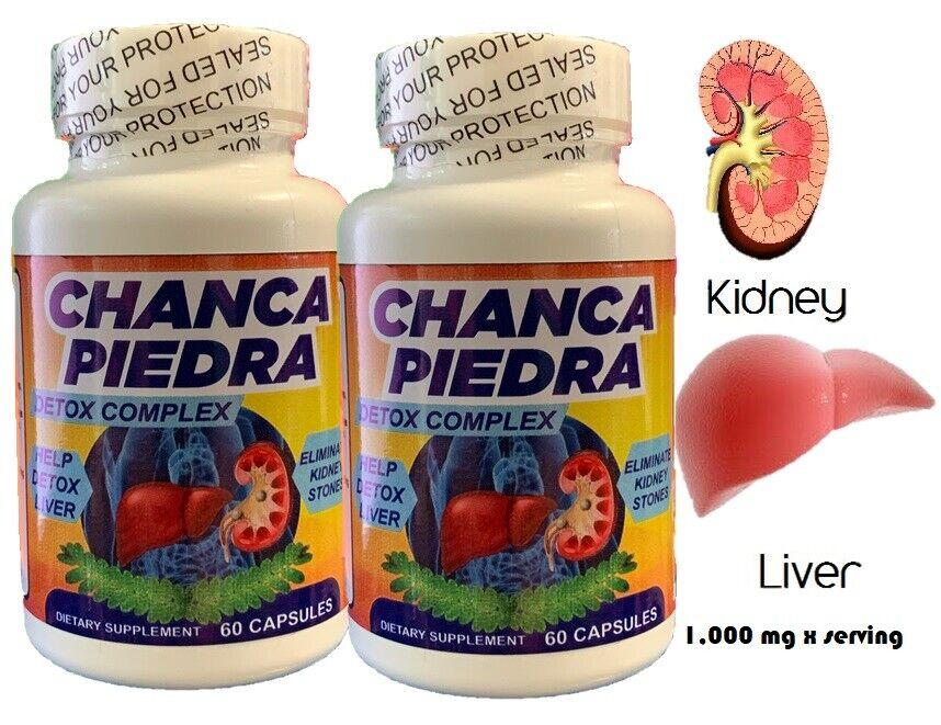 Chanca Piedra chancapiedra 1000mg 120 tab/cap Peruvian material Stone Breaker 2 3