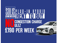 PCO Car Hire rental, Uber ready all-inclusive, rent to buy a PCO congestion charge-free
