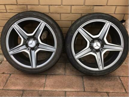 "Genuine MERCEDES C63 * FRONT * 18"" Alloy Wheel RIM TYRE 2 AVAILAB"