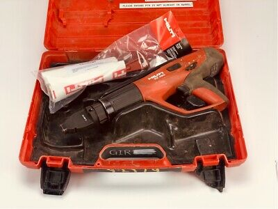 Hilti Dx-460 Concrete Fastener Nailer Powder Actuated Gun With Case And X-460-f8