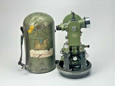 Wild Heerbrugg Theodolite Switzerland T16 Survey Equipment T16-132907 Vintage